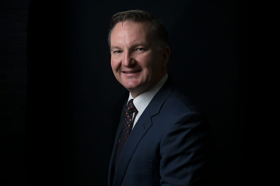 Shadow treasurer Chris Bowen (Pic: Matthew Fatches)
